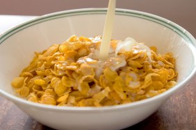 Cornflakes in the morning
